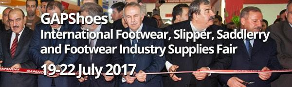4d12e2a9dca5 Международная выставка обуви, изделий из кожи, кожевенной и обувной  промышленности Gaziantep Gapshoes Fair 2017
