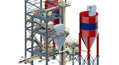 Оборудование для производства строительных материалов Parget Makina Анкара, Турция