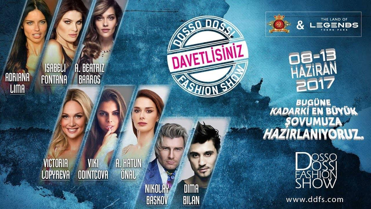 71c81cf3a803 Международная выставка моды ANFAS Dosso Dossi Fashion Show 2017 в Анталии,  Турция