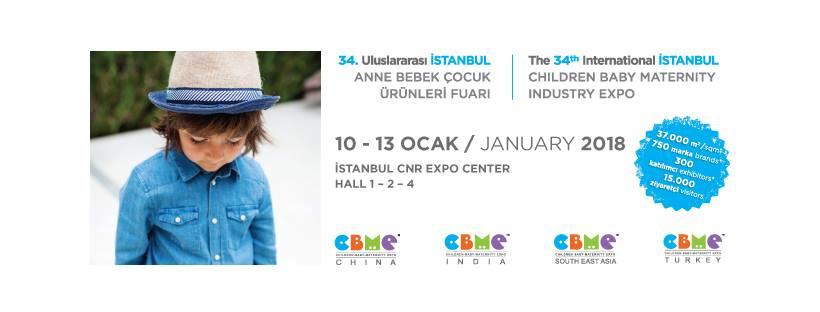 80d09ffbae88 CBME Turkey 2018. Международная выставка товаров для детей, младенцев ...