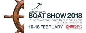 bc8f14ea430c Международная выставка оборудования и аксессуаров для морских судов и яхт  Eurasia Boat Show 2018 в Стамбуле