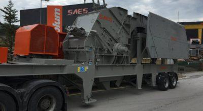 Дробильно-сортировочное оборудование SAES Makina Гебзе, Турция
