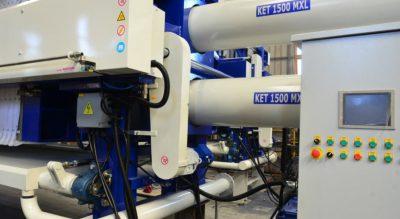 Системы очистки вод KETMAK Коджаэли, Турция